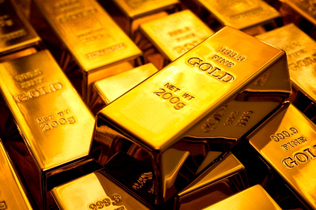 Como compra barras de ouro hoje