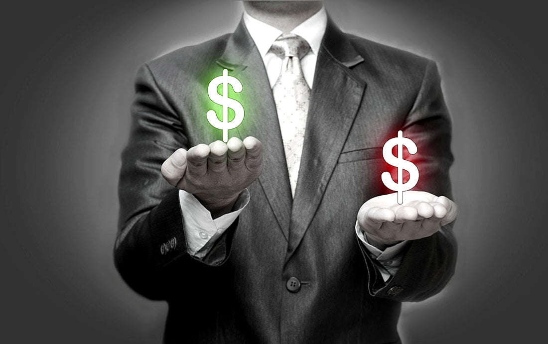 Lucrando e ganhando dinheiro com dólar fraco